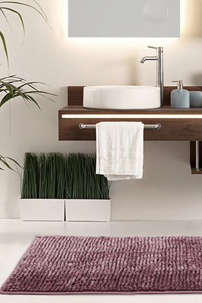 Koupelnová předložka Bati fialová