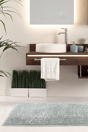 Koupelnová předložka Bati šedá