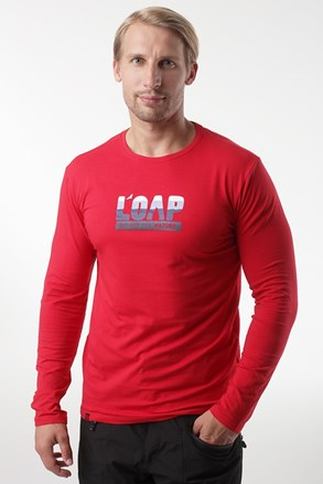 Červené tričko LOAP Albi