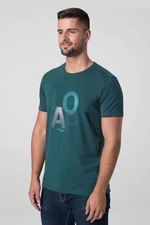 Modrozelené tričko LOAP Alf