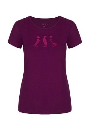 Дамска лилава тениска LOAP Adrin