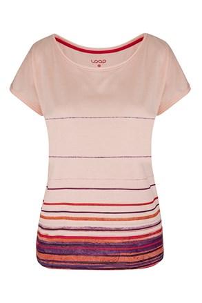 Dámske ružové tričko LOAP Alby