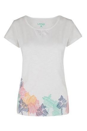 Жіноча біла футболка LOAP Blackie