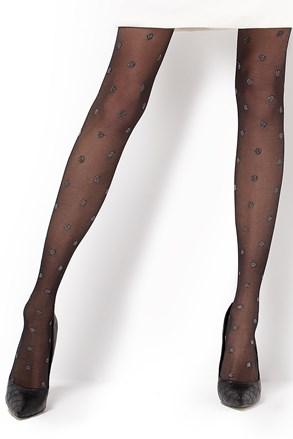 Vzorované punčochové kalhoty Carina 20 DEN