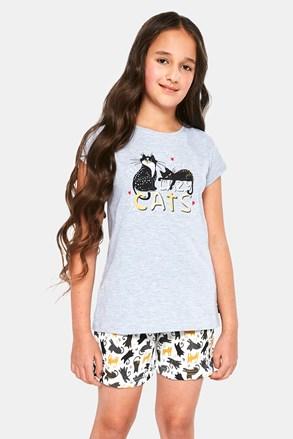 Dívčí pyžamo Cats