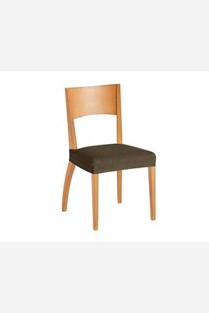 Sada 2 potahů na židli hnědá