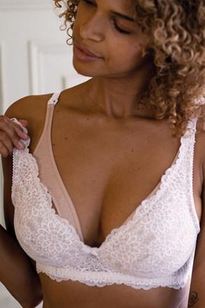 Flores szoptatós bélés- és merevítők nélküli melltartó