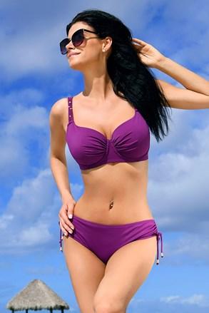 Dámské dvoudílné plavky Jimbaran purple