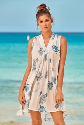 Plážové šaty Itaca White