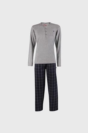 Šedomodré pyžamo Calebron