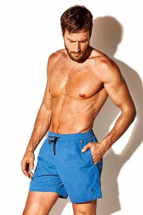 Pánské plavkové šortky Caicco plus size modré