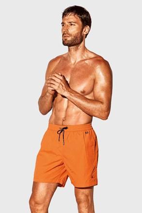 Oranžové koupací šortky David 52 Caicco