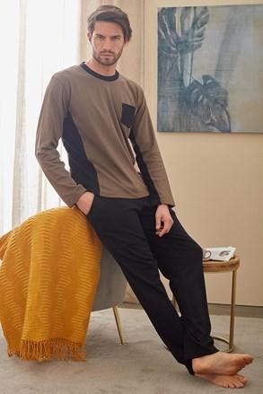 Barna-zöld pizsama Christopher