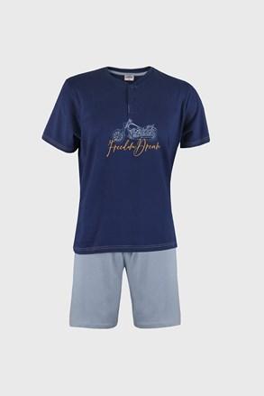 Modré pyžamo Freedom dream