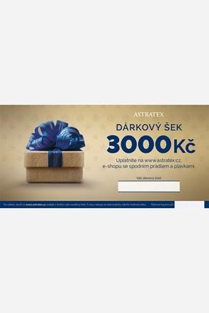 Tištěný dárkový poukaz 3000