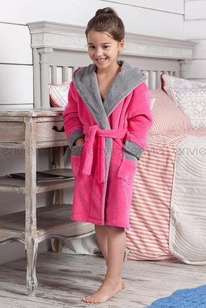 Dětský župan Delfino růžový