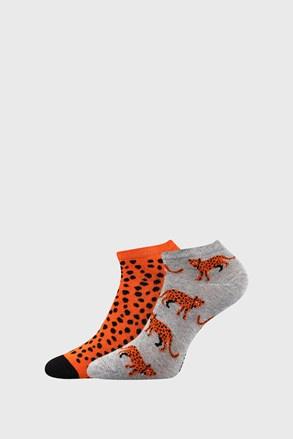 2 PACK dámských ponožek Levhart