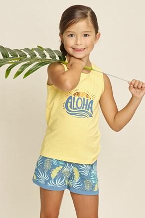 Dívčí pyžamo Aloha Palms