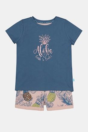 Dívčí pyžamo Aloha Pineapple
