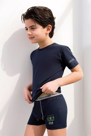 Komplet chlapeckých boxerek a trika Enrico Coveri 4071