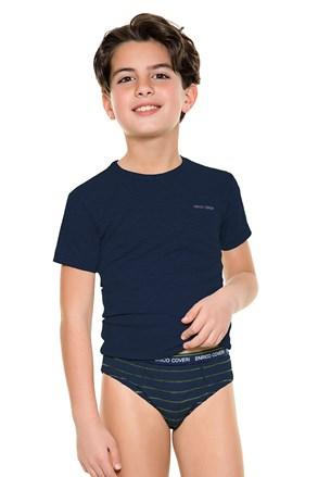 Komplet slip gaćica za dječake i majice E. Coveri 4086