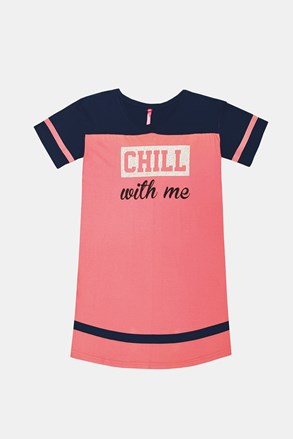 Dívčí noční košile Crew růžová