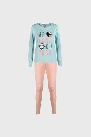 Dívčí pyžamo Good night mátové