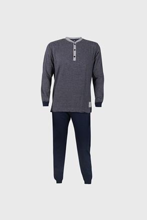 Modré pruhované pyžamo Bart