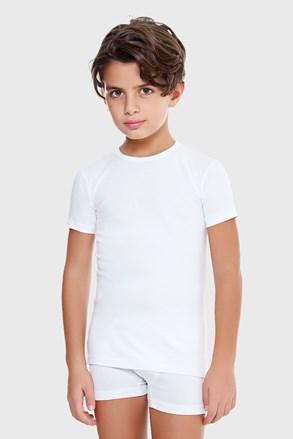 Chlapecké tričko E. Coveri basic bílé