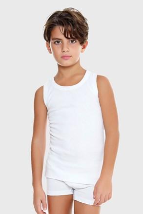 Chlapecké tílko E. Coveri basic bílé