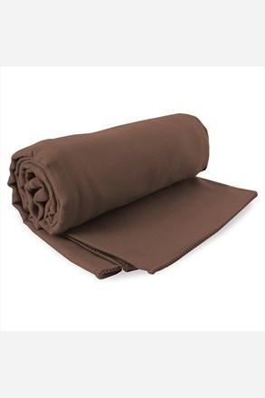 Rychleschnoucí ručník Ekea hnědý