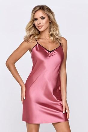Saténová košilka Escora růžová