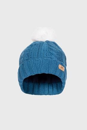 Dětská čepice Ashleigh modrá