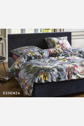 Povlečení Essenza Home Fleur Faded Blue