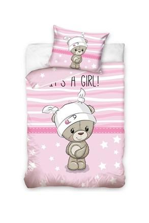 Obliečky do detskej postieľky Girl