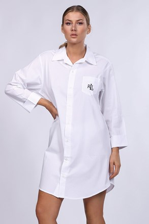 Dámská noční košile Ralph Lauren bílá