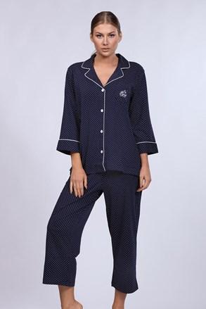 Dámské pyžamo Ralph Lauren Navy Dot
