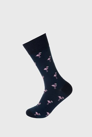 Темно-сині шкарпетки Flamingo