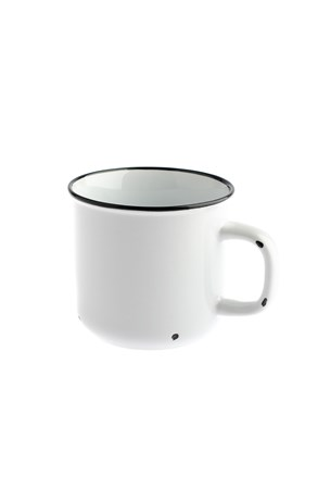Porcelánový hrnek bílý 440 ml
