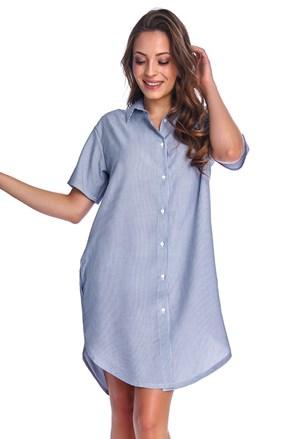 Нощничка за бременни и кърмачки Franchesca Blue