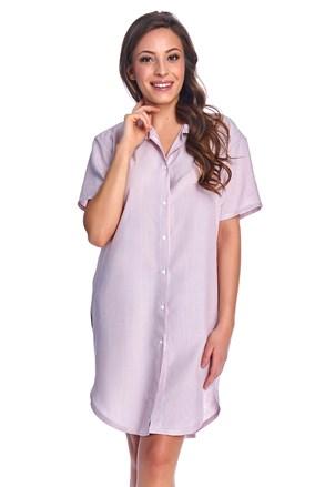 Нощничка за бременни и кърмачки Franchesca Pink