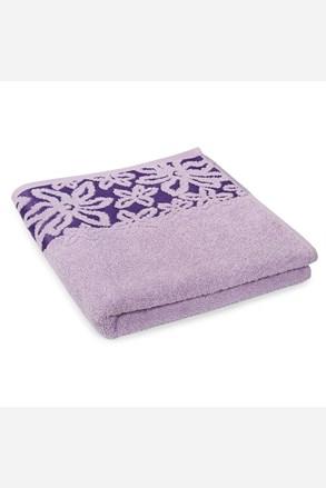 Ručník Fiore fialový
