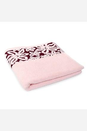 Ručník Fiore růžový