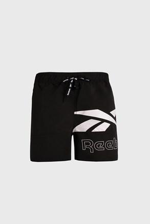 Černé koupací šortky Reebok Carl