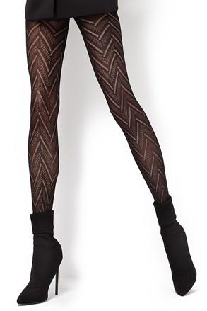 Vzorované punčochové kalhoty Lola2 60 DEN