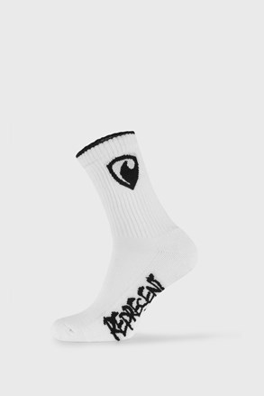 Bílé ponožky Represent Long