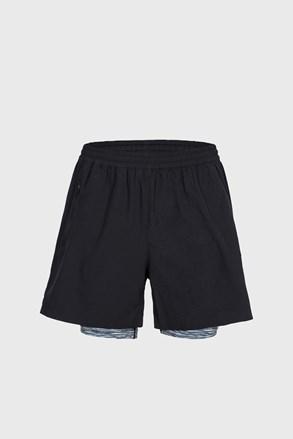 Patterson funkcionális short nadrág fekete