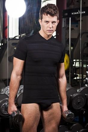 Pánské tričko HASTER Slimfit Sport bezešvé