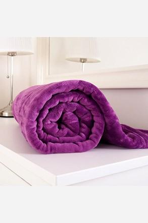 Mikroflanelová deka Exclusive fialová