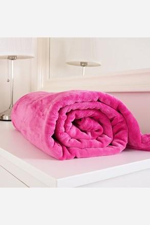 Mikroflanelová deka Exclusive růžová